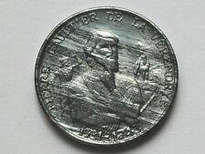 LA VERENDRYE Explorer of Manitoba 1731-1743 QUEBEC Medal Toned-Lustre (Zinc)
