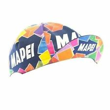 MAPEI RETRO CYCLING TEAM BIKE HAT CAP - Vintage - Fixed Gear - Made in Italy