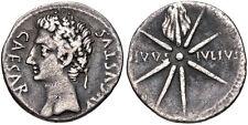 Augustus. 27 BC-AD 14. AR Denarius (19mm, 3.61 g, 5h). Uncertain Spanish mint