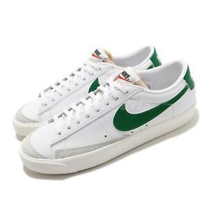 Nike Blazer Low 77 VNTG White Pine Green Men Casual Shoes Sneakers DA6364-115