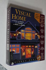 Sierra Home 3D Visual Home NEW SEALED for  WIN95 CD