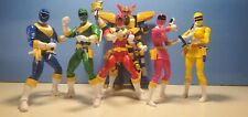 Power Rangers Zeo Legacy Lot (All 6 Complete + Zeo Megazord)