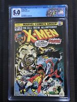 X-men 94 Cgc 5.0 Ow/w MAJOR KEY 2nd App Storm 3rd Wolverine Hot Limited Label