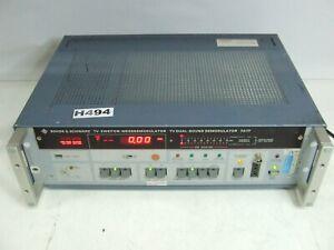 Rohde & Schwarz TV-Zweiton Messdemodulator TV Dual Sound Demodulator FATF Tested