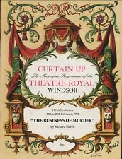 "Windsor. 1981 ""The Business Of Murder"" George Sewell. Lynette Davies.   HL2.778"