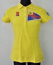 GAASTRA 31 Copa del Rey Polo Shirt Audi Women Large Yellow Ladies L Trikot Damen