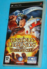 Untold Legends - The Warriors Code - Sony PSP - PAL
