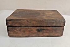 Vintage Hand Crafted Wooden Spice Box Old 6 Compartment Kitchenware Box 02