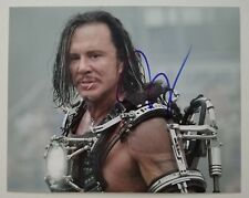 Mickey Rourke Signed 8x10 Photo Actor Iron Man Whiplash The Wrestler RAD