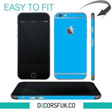 iPhone 6 skin light blue - apple skin vinyl - iphone 6 sticker / iphone 6 decals