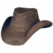 Bullhide Burnt Dust - Leather Cowboy Hat westren style aussie australian