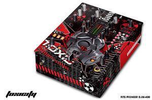 Skin Decal Wrap for PIONEER DJM-400 DJ Mixer CD Pro Audio DJM400 Parts TOXICITY
