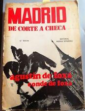 Madrid. De Corte A Checa - Agustín De Foxá (Conde De Foxá) - 1973