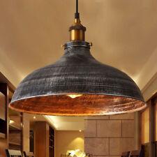 Retro Vintage Industrial Pendant Light Ceiling Lamp Rustic Shade Barn Fixture