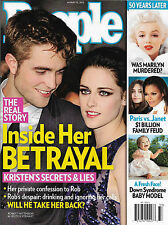 Robert Pattinson Kristen Stewart Marilyn Monroe Janet Jackson Aug 13 2012 People