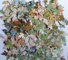 30 Piece Handmade Die Cut Mixed Leaves #1, Scrapbooking, Cards, Papercrafts