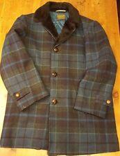 Vtg., Pendleton, Wool Coat, Faux Fur Trim, Tartan/Plaid Print (Size Medium)