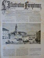 1879 HONGRIE SZEGEDIN CATASTROPHE INONDATION THEISS DIGUE
