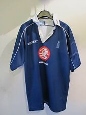 "Maglia shirt Gilbert rugby Royal Navy the Team Works XL 44""-46"" blu"