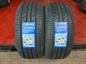 X2 245 45 18 245/45R18 100W XL LANDSAIL NEW TYRES WITH GREAT C,B RATINGS BARGAIN
