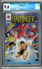 Harbinger #5 (1992) CGC 9.6  White Pages  Shooter - Lapham - Dixon  w/Coupon