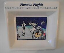 Smithsonian Trinket Ceramic Dish Astronauts Space Shuttle Nasa Blast Off 1988