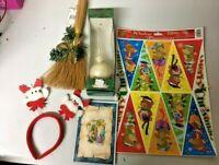 Stock Decorazioni Natalizie Palline Punta Albero Di Natale Vetrofania Frontino