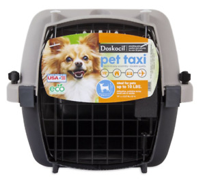 "Hot Secured Doskocil Pet Taxi Dog Kennel 19"" to 40"" Length"