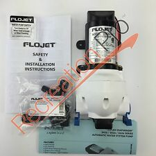 RV Marine 12 Volt On Demand Quiet Water Pump 2.9 G.P.M. Flojet 03526-144