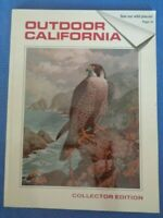 Outdoor California Magazine Collector's Edition 1989 Harry Adamson Stamps Birds