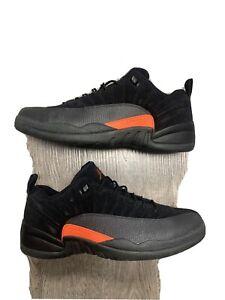 Jordan Retro 12 Low Max Orange Preowned In Great Condition Size 16