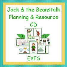 Jack & the Beanstalk Planning & Resource Pack CD, EYFS, Reception, Growing