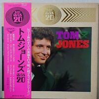 TOM JONES MAX 20 LONDON RECORDS MAX-101 Japan OBI VINYL LP