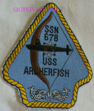 PUS263 - US NAVY USS ARCHERFISH SSN-733 PATCH SOUS-MARIN NUCLEAIRE