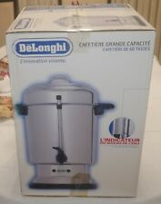 DeLonghi Urn 60 Cup Commercial Stainless Steel Coffee Maker EXCELLENT