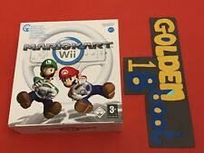 NINTENDO Wii Bundle-MARIO KART GIOCO E VOLANTE BIG BOX COMPLETO