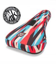 NEW Mankind Lines Mid Pivotal BMX Seat / Saddle Multicoloured Stranger BSD Cult