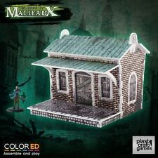 Plast Craft Games Colored Malifaux Train Halt box new