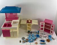 Vintage 1984 Barbie Dream Kitchen with Accessories by Mattel #9119 - no Box