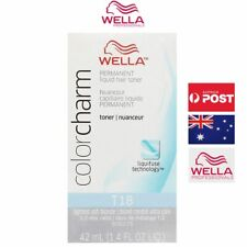 Wella Colorcharm Permanent Hair Toner - T18 Lightest Ash Blonde