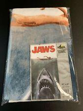 Jaws Movie Poster Beach/Bath Towel