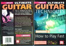LICK LIBRARY, ULTIMATE GUITAR: HOW TO PLAY FAST VOLUME 2 - DVD