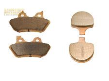 Fr+R Sintered Brake Pads For 2000-2003 2002 2001 HARLEY FLSTS Heritage Springer