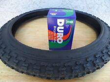 (1) Kids Bicycle Tire plus (1) Tube 16 x 1.75 Fits 1.95, 2.125 Black BMX  Bike