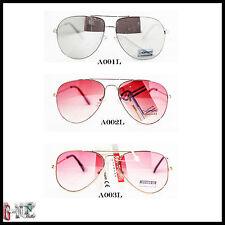 Occhiali Da Sole Uomo Donna Aviatore Fashion Lenti Sfumate e Specchio TRL