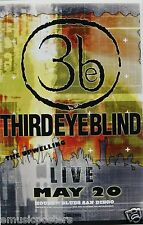 Third Eye Blind / The Upwelling 2009 San Diego Concert Tour Poster