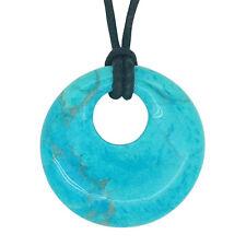 Lucky scorpio pierre de naissance agogo pendentif zodiac gemstone turquoise nacres