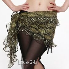 New Belly Dance Costume Hip Scarf Belt  Skirt Wrap 7 colors 1/2