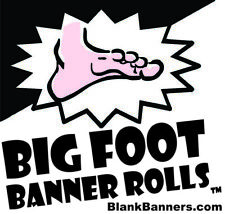 "BIG FOOT Banner Roll, Make Banners by the Foot. 48"" x 20 yards. Made in USA."