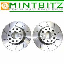 MERCEDES 190/190E W201 82-94 Grooved Rear Brake Discs